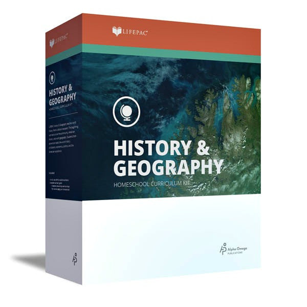 Alpha Omega LIFEPAC 10th Grade - History/Geography - World History - Complete Set