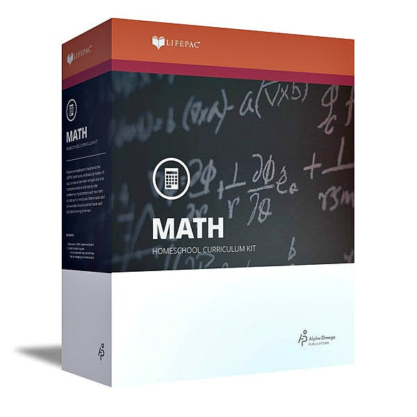 Alpha Omega LIFEPAC 9th Grade - Math - Algebra 1