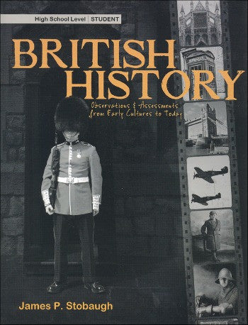 British History Student Book, by James Stobaugh