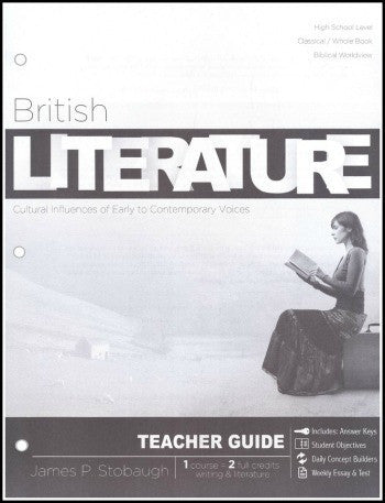 British Literature Teacher's Edition, by James Stobaugh