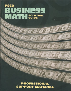 Business Math Solutions Manual (LFBC)