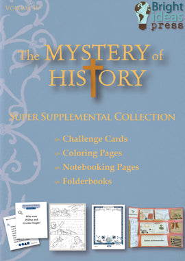 Mystery of History Volume 4 Super Supplemental Collection on CD-Rom (Single Family License)
