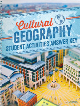 BJU Press Cultural Geography Student Activities Answer Key, 4th Edition
