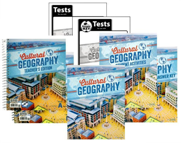 BJU Press Cultural Geography Kit, 4th Edition