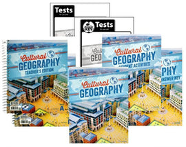 BJU Press Cultural Geography Home School Kit, 4th Edition