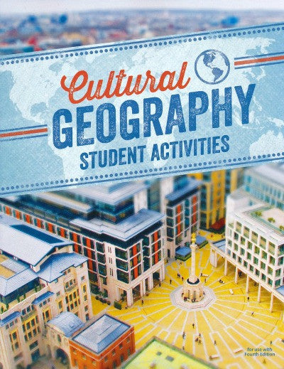 BJU Press Cultural Geography Student Activities, 4th Edition