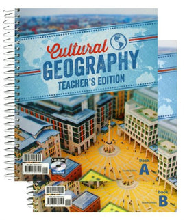 BJU Press Cultural Geography Teacher's Edition with CD, 4th Edition