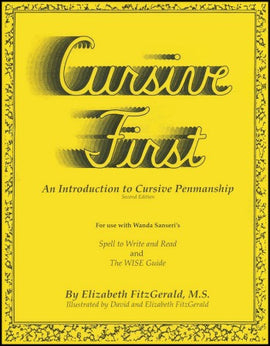 Cursive First: An Introduction to Cursive Penmanship, 2nd edition