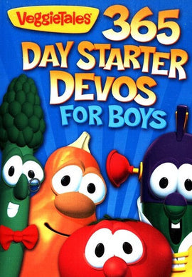 365 Day Starter Devos For Boys - Veggie Tales