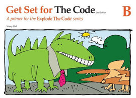 Explode The Code Get Set For The Code B - Grade K-1, 2nd Edition
