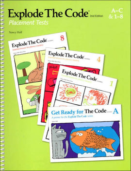 Explode the Code Placement Tests, 2nd Edition