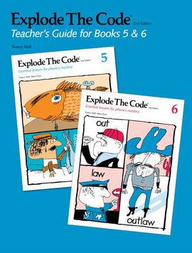 Explode the Code Teacher's Guide/Key, Books 5 - 6, 2nd Edition