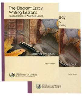 Elegant Essay: Building Blocks for Analytical Writing Teacher/Student Combo