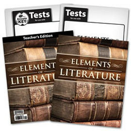 BJU Press Elements of Literature Home School Kit, 2nd Edition