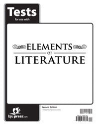 BJU Press Elements of Literature Tests, 2nd Edition