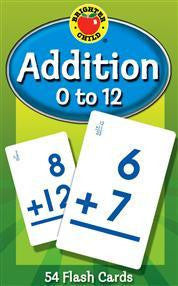 Addition Flash Cards ( 0 - 12 )