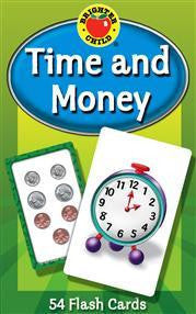 Time and Money Flash Cards