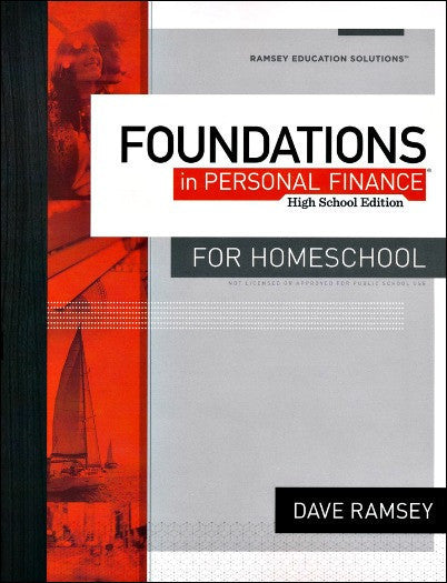 Foundations in Personal Finance for Homeschool Student Workbook