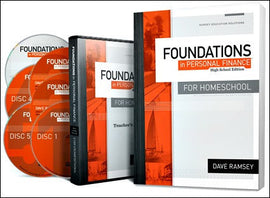 Foundations in Personal Finance for Homeschool Teacher/Student Pack