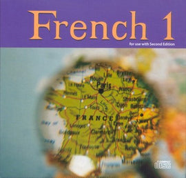 BJU Press French 1 CD Set 2ed