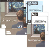 BJU Press Fundamentals of Literature Homeschool Kit (2nd ed)