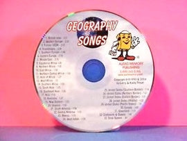 Geography Songs CD - 34 Fun Songs