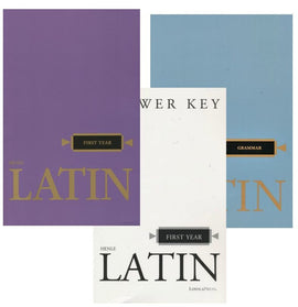 Henle Latin 1 Set (Text, Answer Key, Latin Grammar)