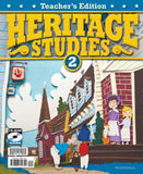 BJU Press Heritage Studies 2 Teacher's Edition with CD, 3rd Edition