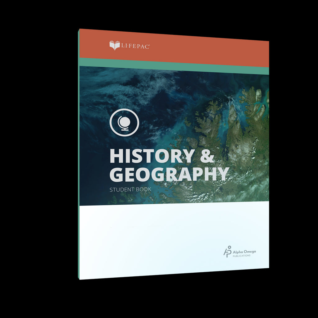 Alpha Omega LIFEPAC 9th Grade - History/Geography - Set of 10 Workbooks