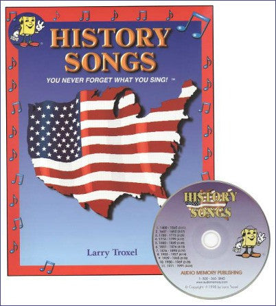 History Songs CD (Audio Memory)