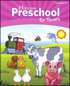 Horizons Preschool for Threes Set