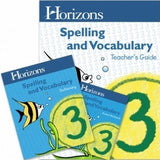 Horizons Spelling and Vocabulary 3rd Grade Set