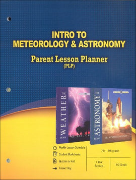 Intro To Meteorology and Astronomy Parent Lesson Planner