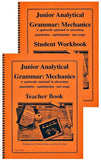 Junior Analytical Grammar: Mechanics Set (Student Book + Teacher Book)