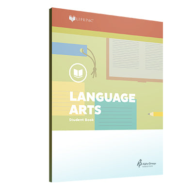Lifepac 5th Grade Language Arts Set of 10 Workbooks