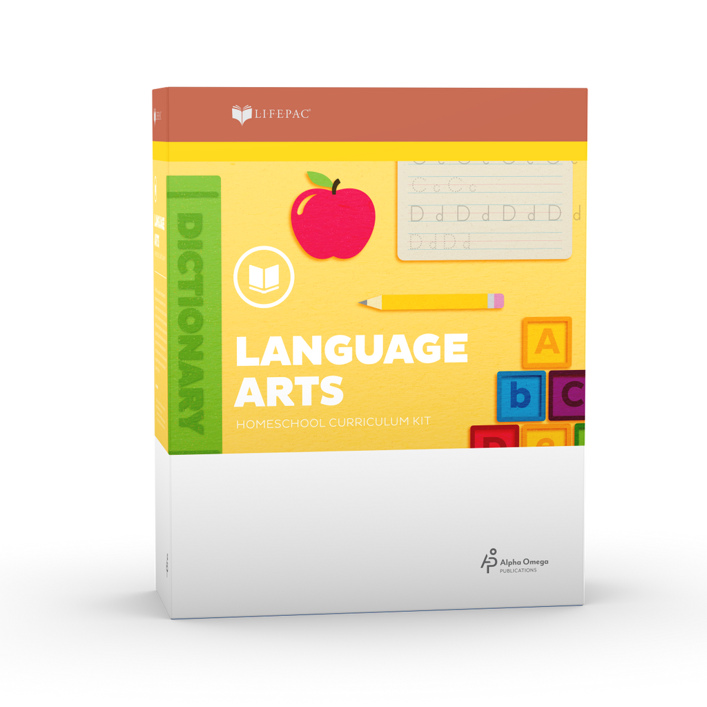 Alpha Omega Kindergarten LIFEPAC Language Arts