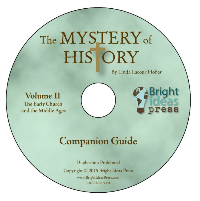 Mystery of History Volume 2 Companion Guide CD-ROM