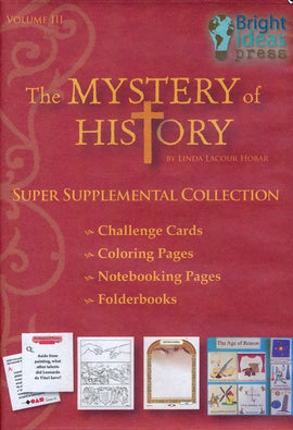 Mystery of History Volume 3 Super Supplemental Collection on CD-Rom (Single Family License)