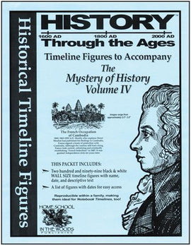Timeline Figures to Accompany The Mystery of History Volume 4