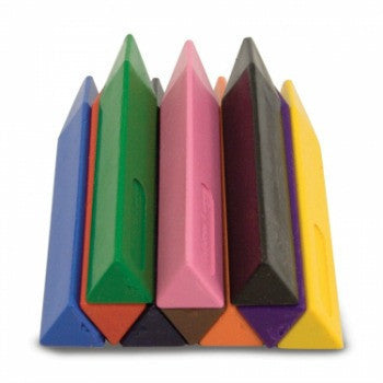 Melissa and Doug Jumbo Triangular Crayons (10 piece)