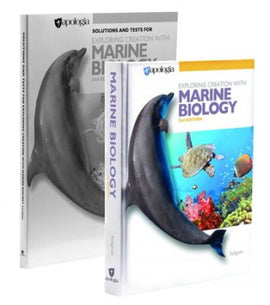 Apologia Exploring Creation with Marine Biology Basic Set, 2nd Edition (Student Text & Solutions Manual)