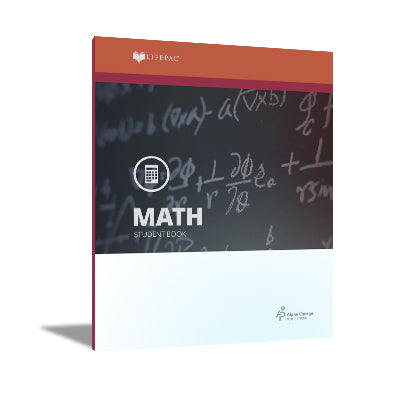 Alpha Omega LIFEPAC 9th Grade - Math - Set of 10 Workbooks