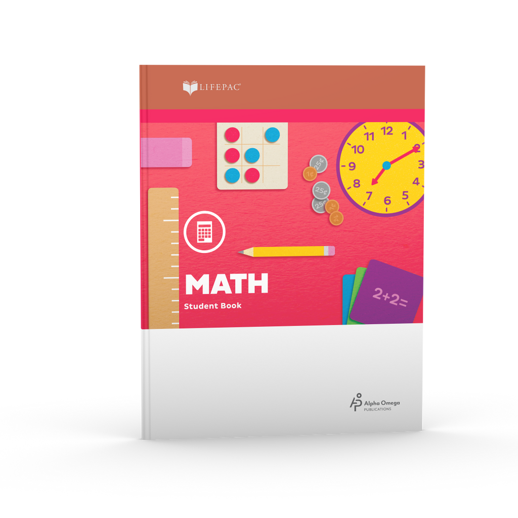 LIFEPAC Kindergarten Math Student Book 1