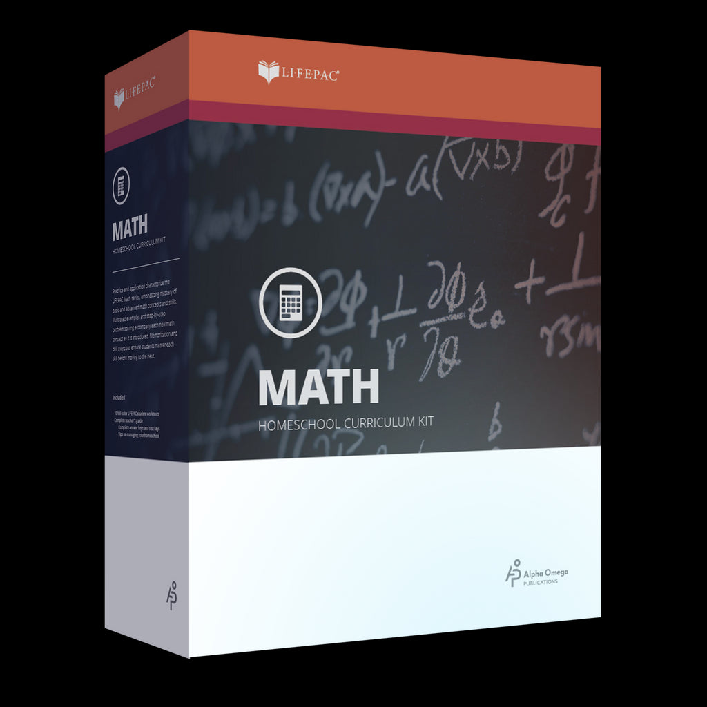Alpha Omega LIFEPAC 12th Grade - Math (Pre-Calculus or Advanced Mathematics)