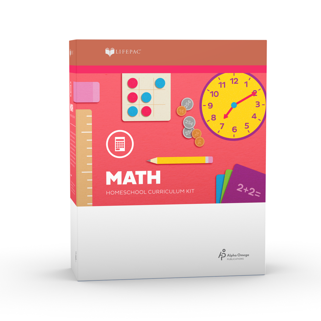 Alpha Omega Kindergarten LIFEPAC Math