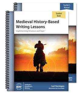 Medieval History-Based Writing Lessons Teacher/Student Combo, 5th Edition