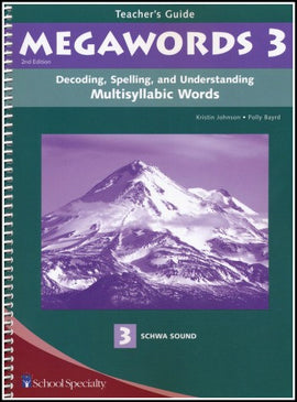Megawords 3 Teacher's Guide, 2nd Edition