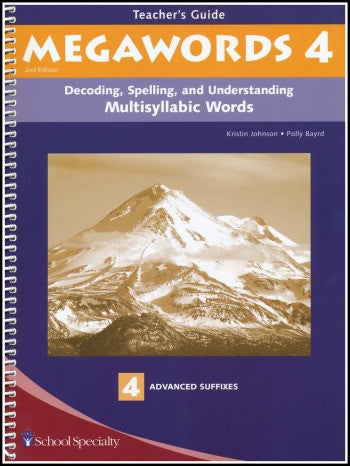 Megawords 4 Teacher's Guide, 2nd Edition