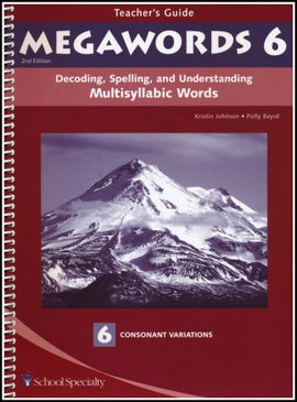 Megawords 6 Teacher's Guide, 2nd Edition