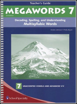 Megawords 7 Teacher's Guide, 2nd Edition